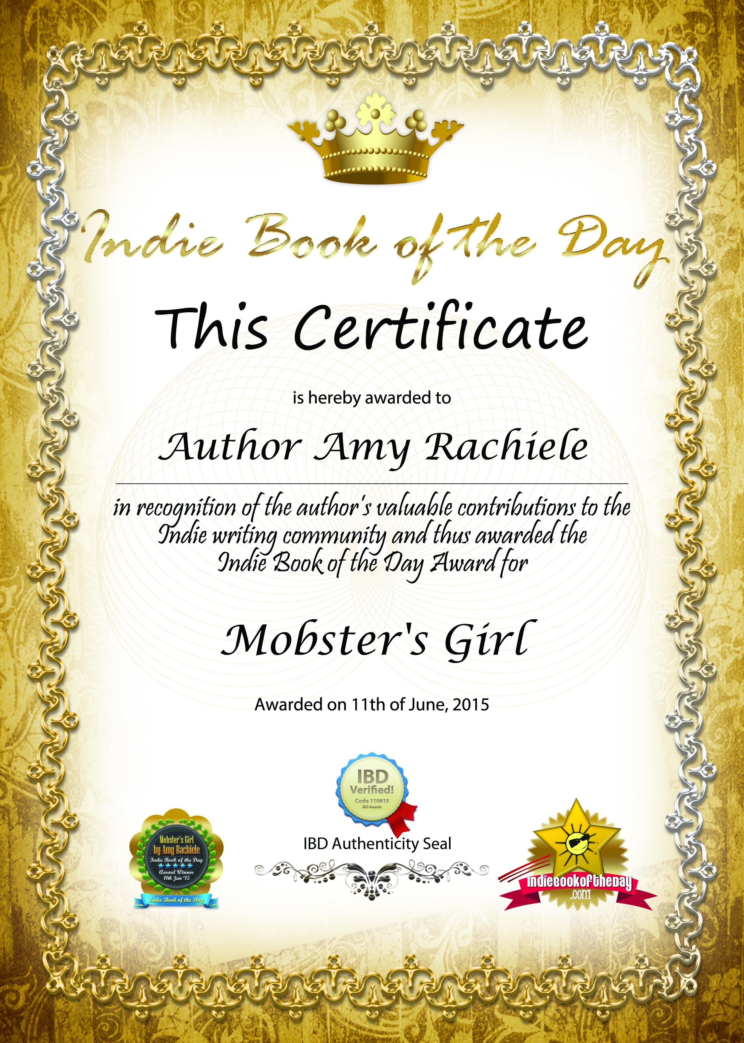 Amy Rachiele IBD Winner