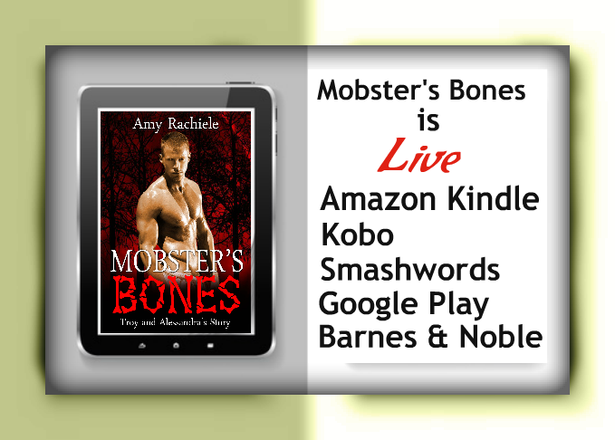 Mobster's Bones new release by Amy Rachiele
